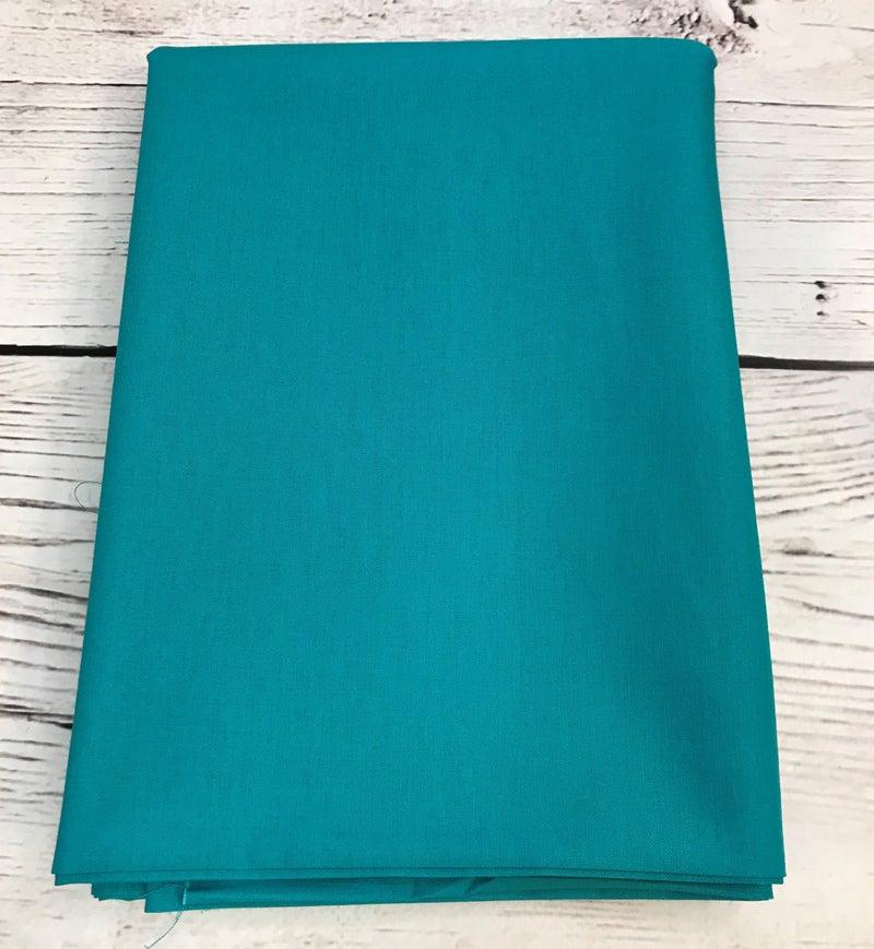 BYOK - Backing  Moda Bella Solid - Turquoise (3 3/8 yards)