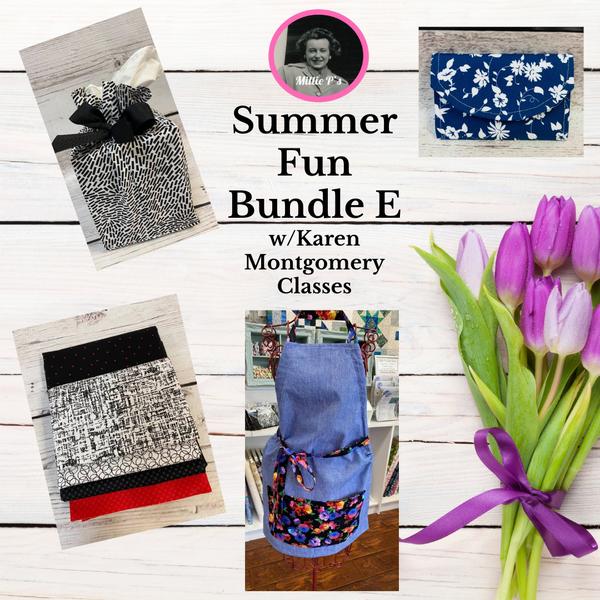 Summer Fun Bundle E w/Karen Montgomery