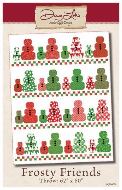 """Pattern:  Frosty Friends 62"""" x 82"""""""