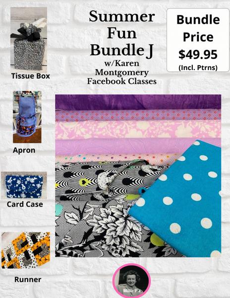 Summer Fun Bundle J w/Karen Montgomery