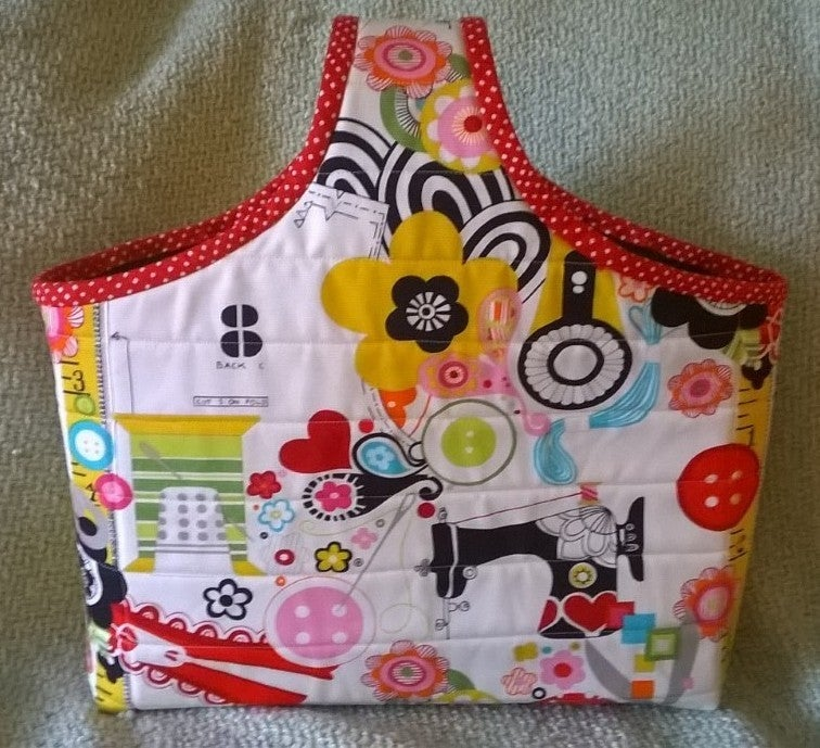 Kit:  Sew Now Improv Bag w/Ticket to Quilt Blocks Includes Pattern