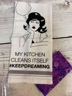 Kit: #KeepDreaming Towel Cowl (inc. pattern)