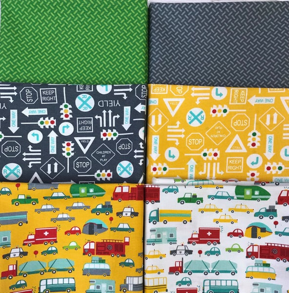 Fat Quarter Bundle (6) Moda On the Go