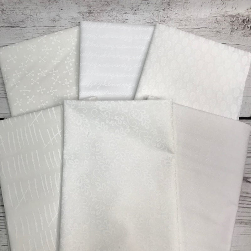 FQ Bundle (6) White on White