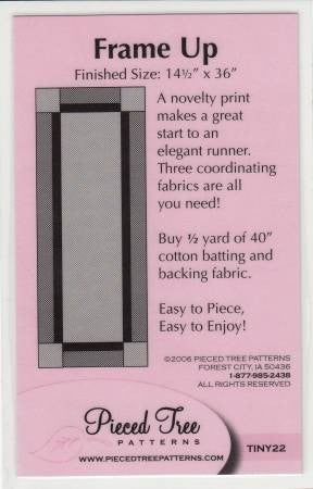 Frame It Up Pattern *Final Sale*