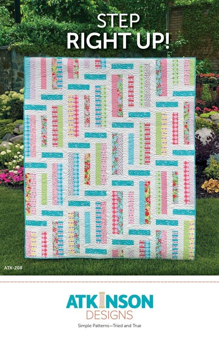 Step Right Up Pattern by Atkinson *Final Sale*
