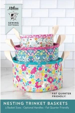 Pattern:  Nesting Trinket Basket 3 sizes *Final Sale*