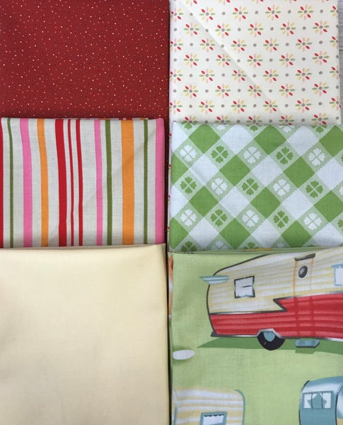 Fat Quarter Bundle (6) Outdoor Fun