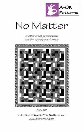 Pattern:  A OK 5-Yard Quilt No Watter