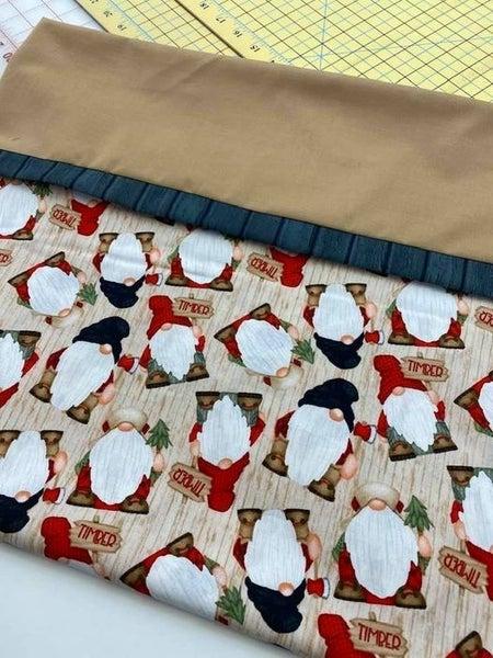 Kit:  Gnomie Cotton Pillow Case (Standard to Queen)