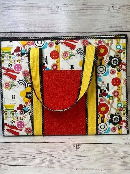 Kit: On The Go Sew Now Sew Wow Tote (Need Pattern)