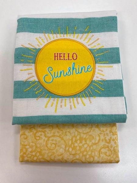 Towel Cowl Sunshine