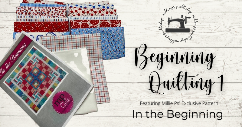 March Zoom Class:  Beginning Quilting 1