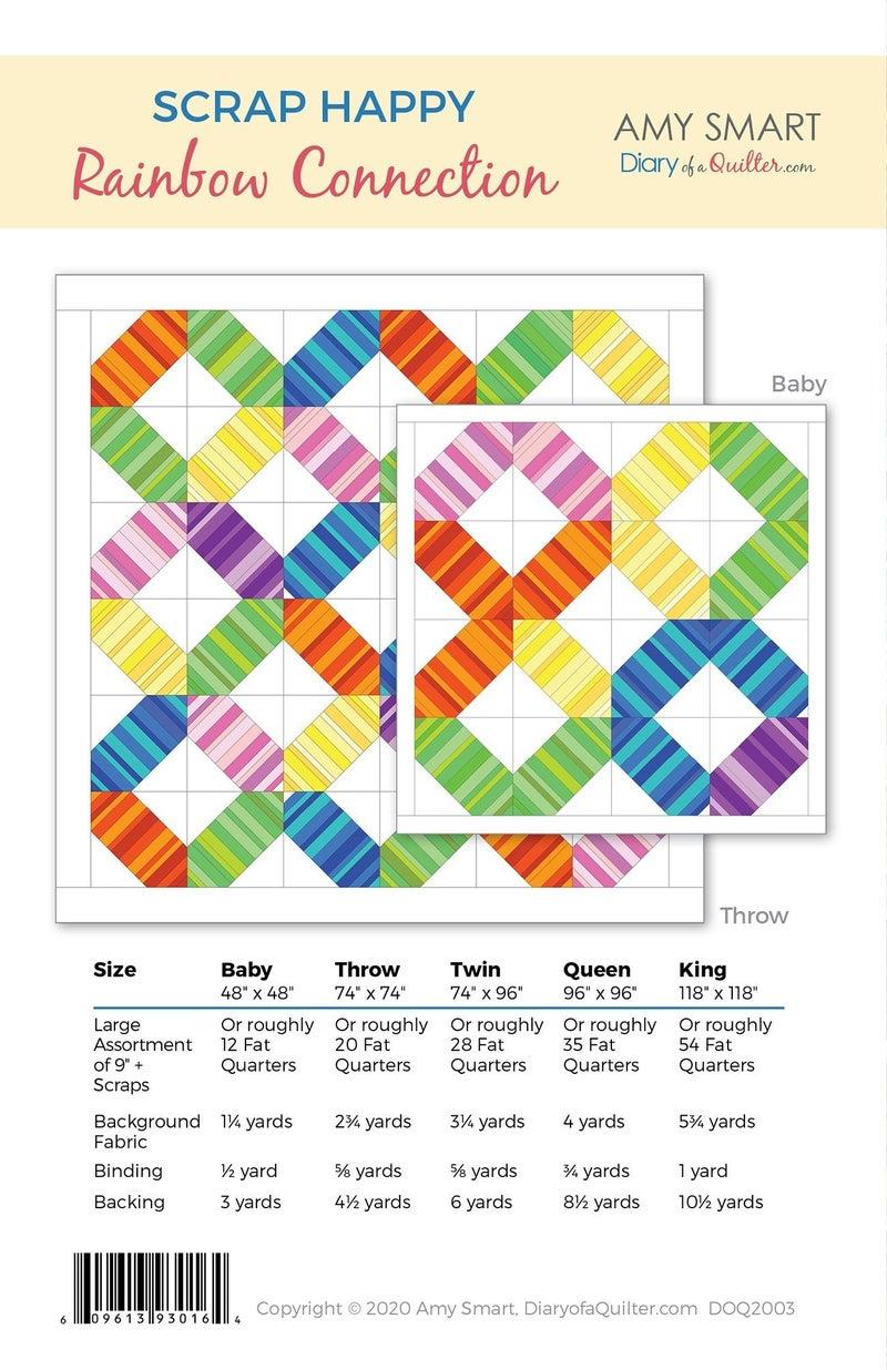 Pattern: Scrap Happy Rainbow Connection *Final Sale*
