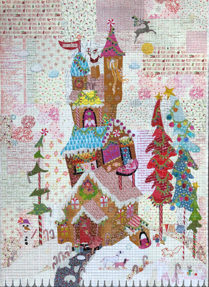 Gingerbread House by Laura Heine *Final Sale*