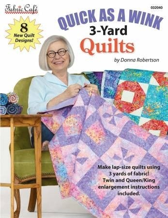 Book:  Quick As A Wink 3-Yard Quilts