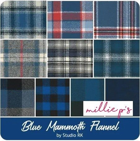 Mammoth Flannel Ten Squares Blues