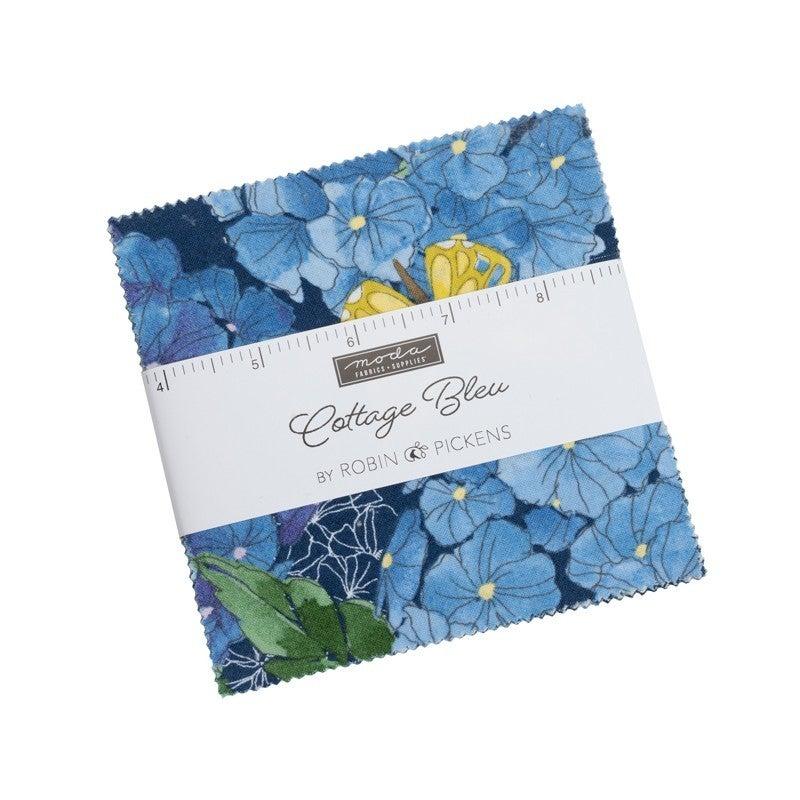Charm Pack:  Moda Cottage Bleu
