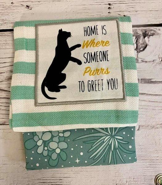 Towel Cowl Purr