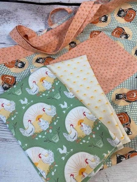 Kit: Simple Sack Rooster Sunshine - Need Pattern