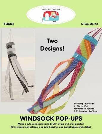 Windsock Pop Up Pattern & Spring