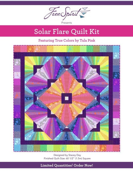 Pre-Order Tula Solar Flare Quilt Kit (Delivery July)