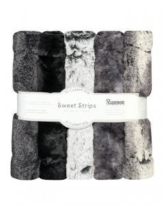 """Five Pack 10"""" Luxe Cuddle Strips Night"""