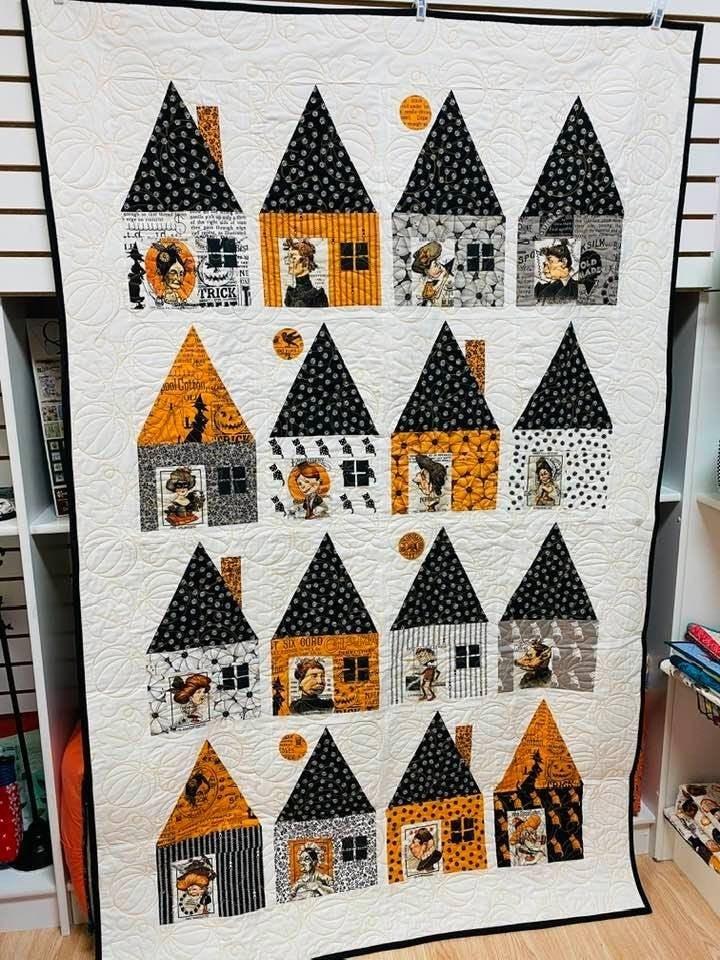 "Kit:  Cabin Chills Quilt Kit (51"" x 80"") inc. pattern"
