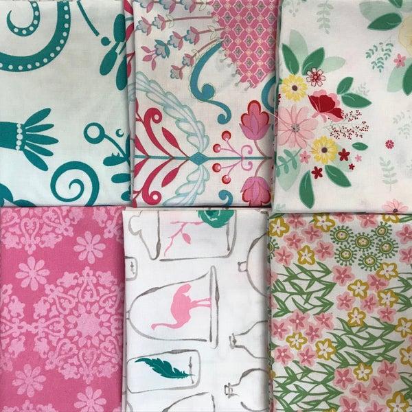 FQ Bundle (6) Pink and Aqua