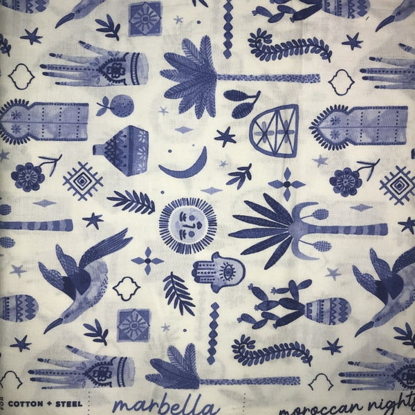Cotton and Steel Marbella  2 1/4 yards