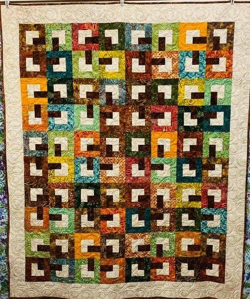 """Kit:  Batik Baby Chains  (54"""" x 65"""")"""