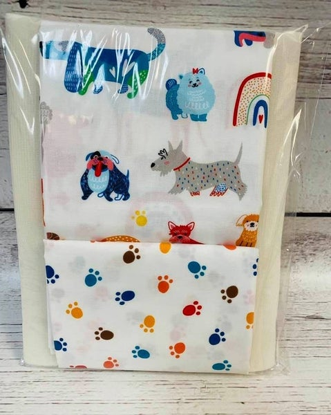 Kit:  One Hour Basket Cute Dogs