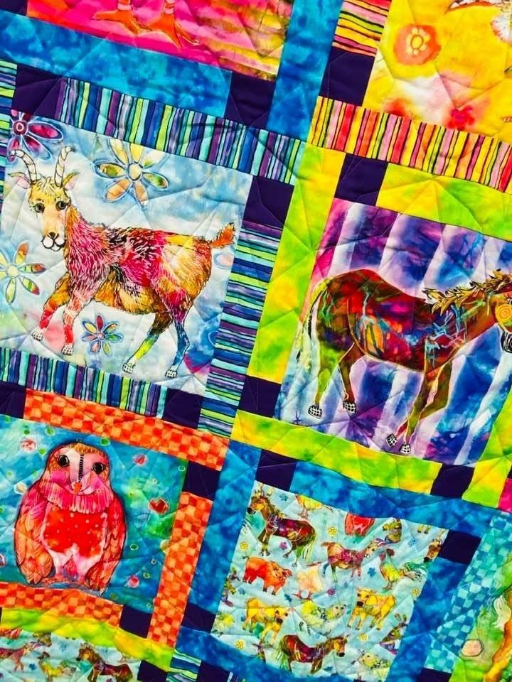 Kit:  Block Talk Animals (Need Pattern)