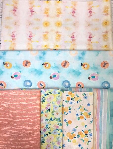 Kit - French Weave Pattern - Dear Stella with Stella Multi background fabric