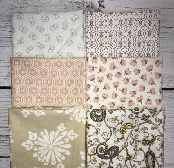 FQ Bundle (6) Neutral Florals