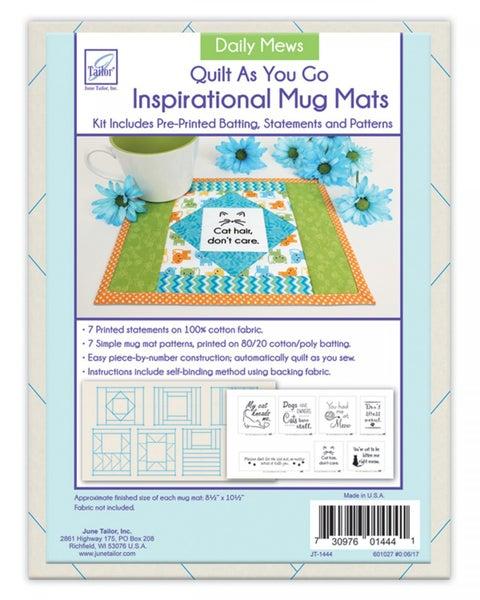 Quilt As You Go Mug Mats Daily Mews