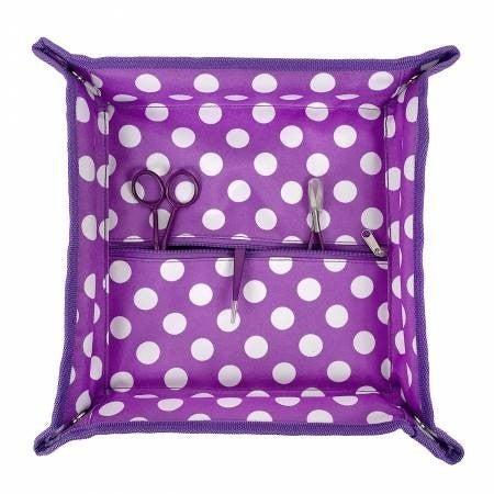 """Tote Trivet Purple Dot 13"""" x 13"""""""