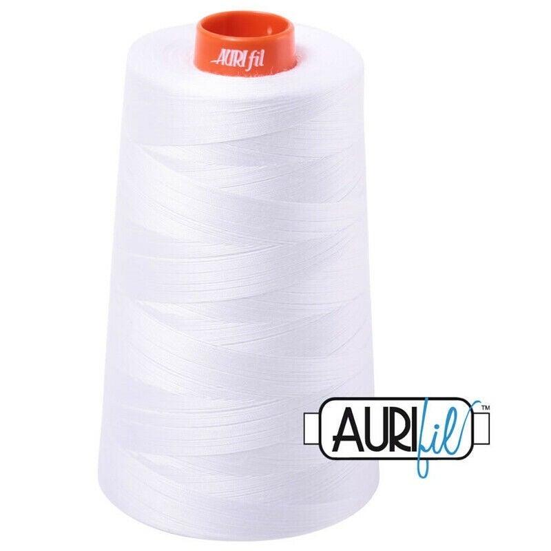 Aurifil Lg. Spool 50 wt Color : White #2024