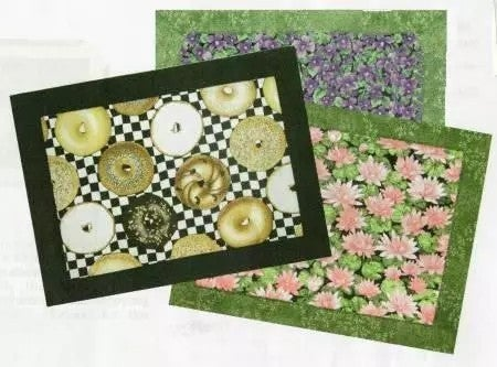 Pattern: Easy Mitered Placemats