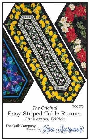 Pattern:  Easy Striped Table Runner *Final Sale*