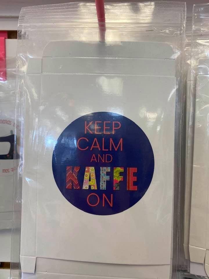 Fat Quarter Card Kaffe