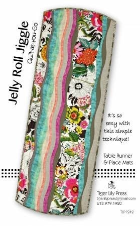 Pattern:  Jelly Roll Jiggle *Final Sale*