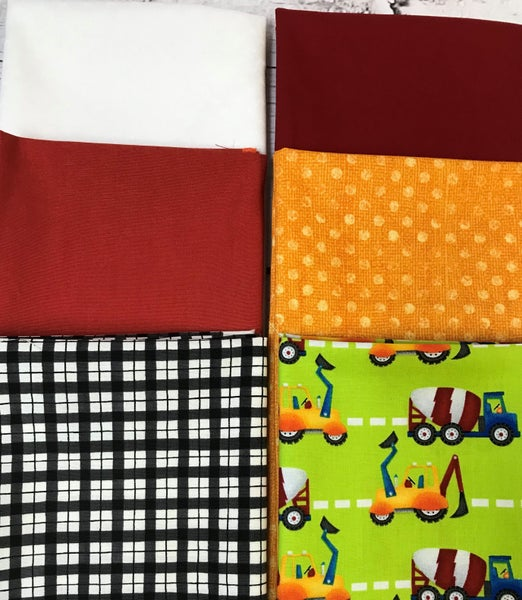 Fat Quarter Bundle (6) Construction
