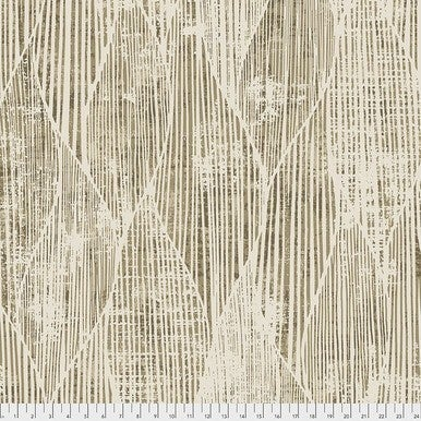 Tim Holtz Wideback Frequency Gold One-Half Yard Cut
