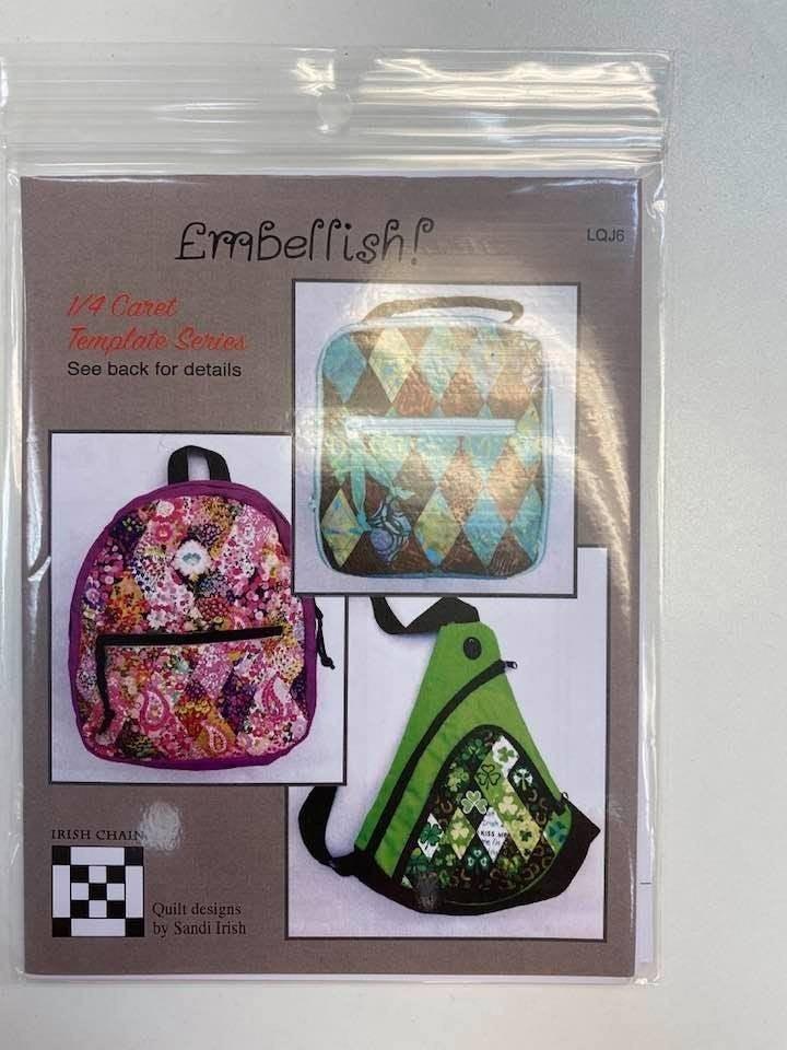 Pattern Embellish *Final Sale*