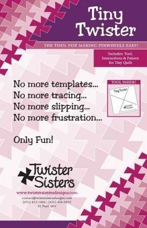 Tool Combo:  Tiny Twister & Itty Bitty Twister (for Twisty Zips)