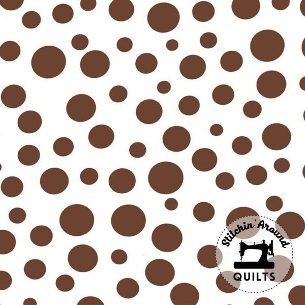 MM Lolli Dot White - 1 yard