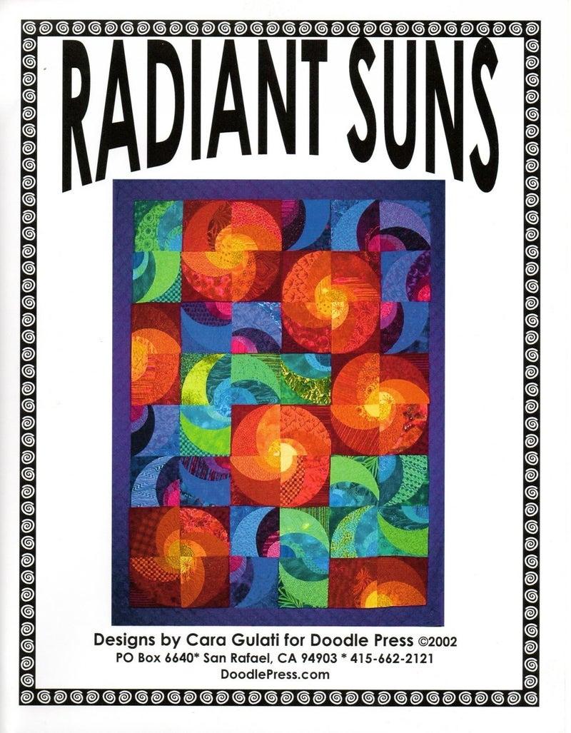 Radiant Suns Ruler & Pattern