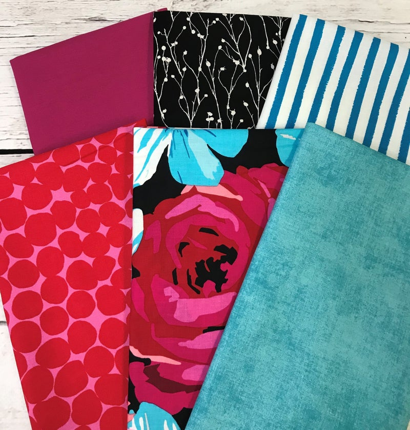Fat Quarter Bundle (6) Drama Queen