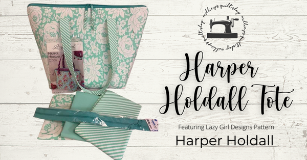 Zoom Class: Harper Holdall Tote